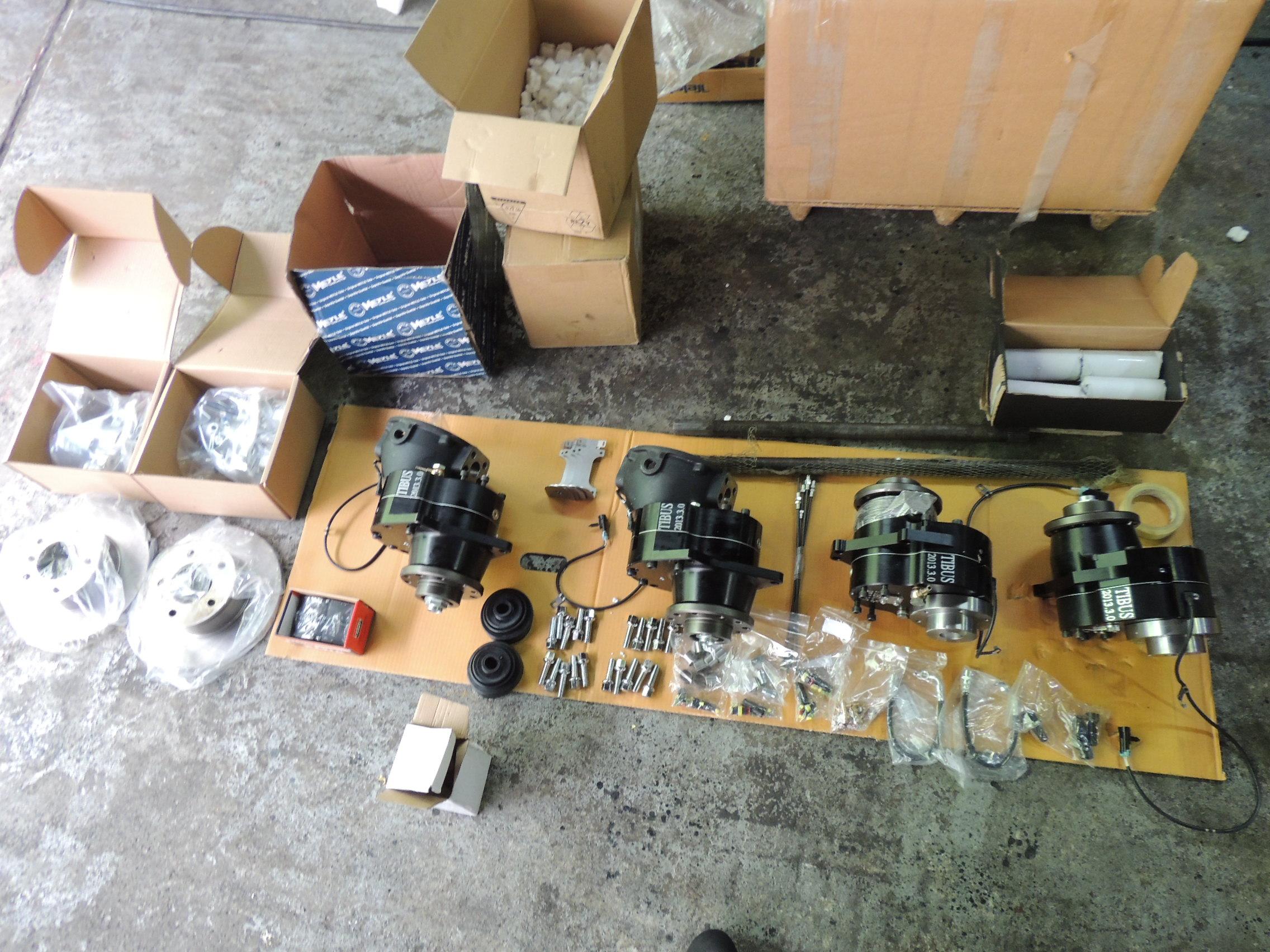 S p 4x4 ltd for Mercedes benz portal axles