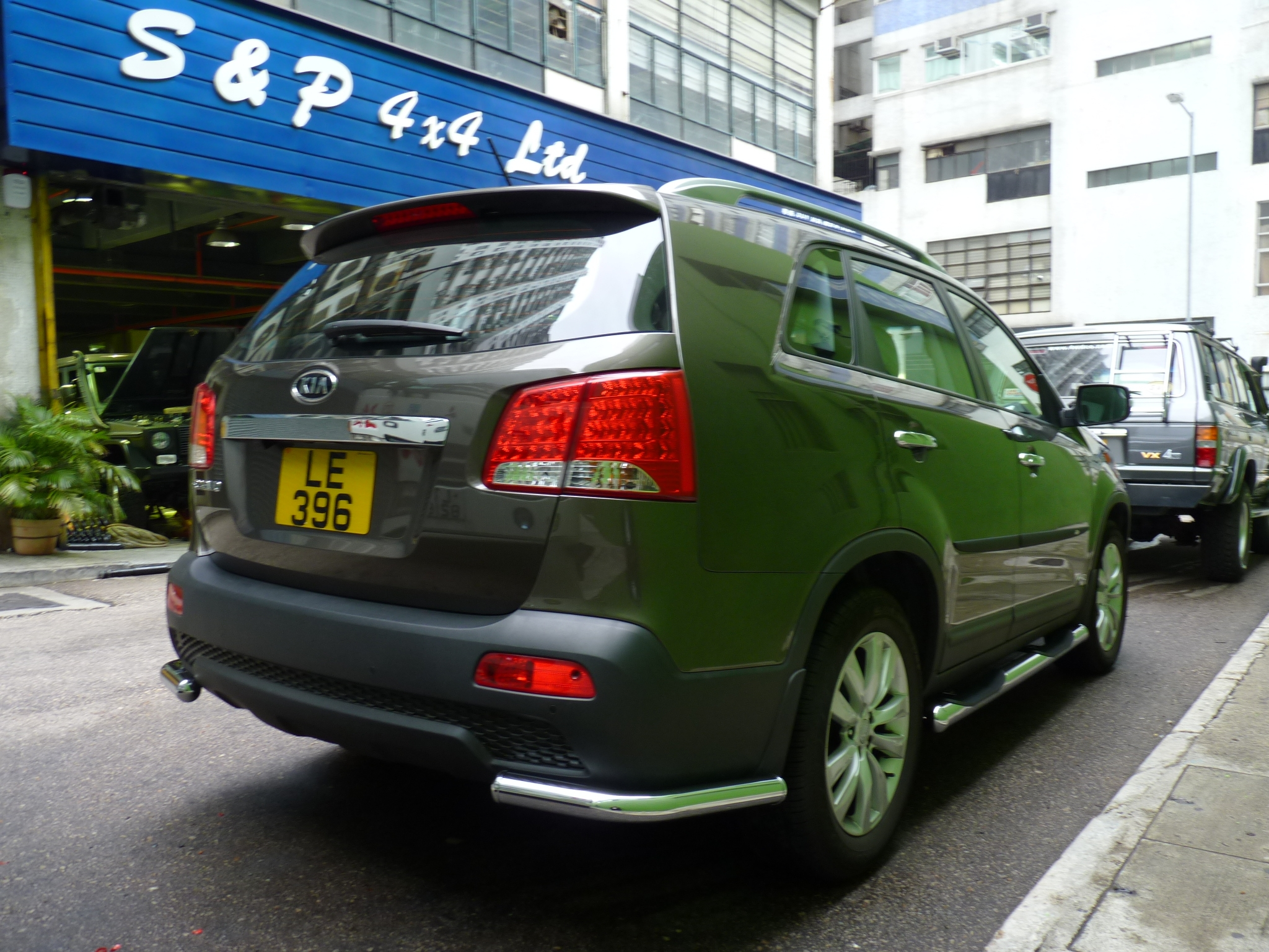 Sp 4x4 Ltd Kia Sorento Accessories Germany Cobra Made High Quality S Steel Chrome Accessoriesheavy Duty Rear Conner Bar For 2010 New Suv